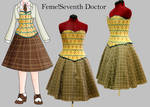 feme!7th Doctor Who Cosplay WIP by WanderingWindward