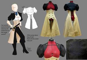 Steampunk!Castiel Cosplay