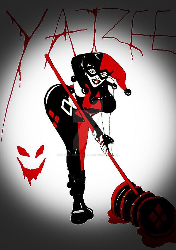 Harley Quinn by Tontotheblueflamingo