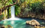 Banias waterfall