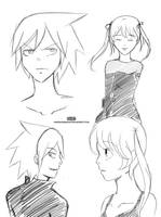Soul and Maka - Practice by Haveakawaiiday