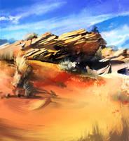 Desert by Morisan