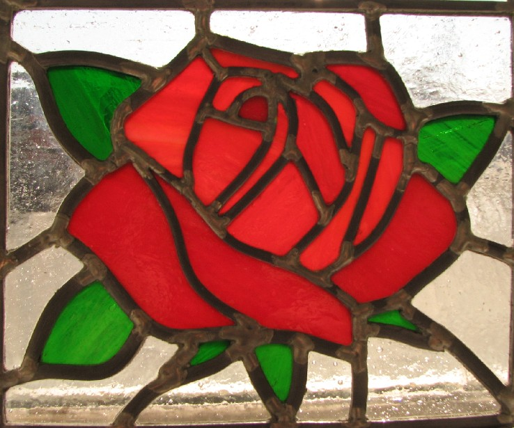 Rose Stained Glass By Autobotwonko On Deviantart