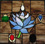 Mox Lotus Stained Glass