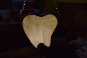 Tooth Stained Glass Panel