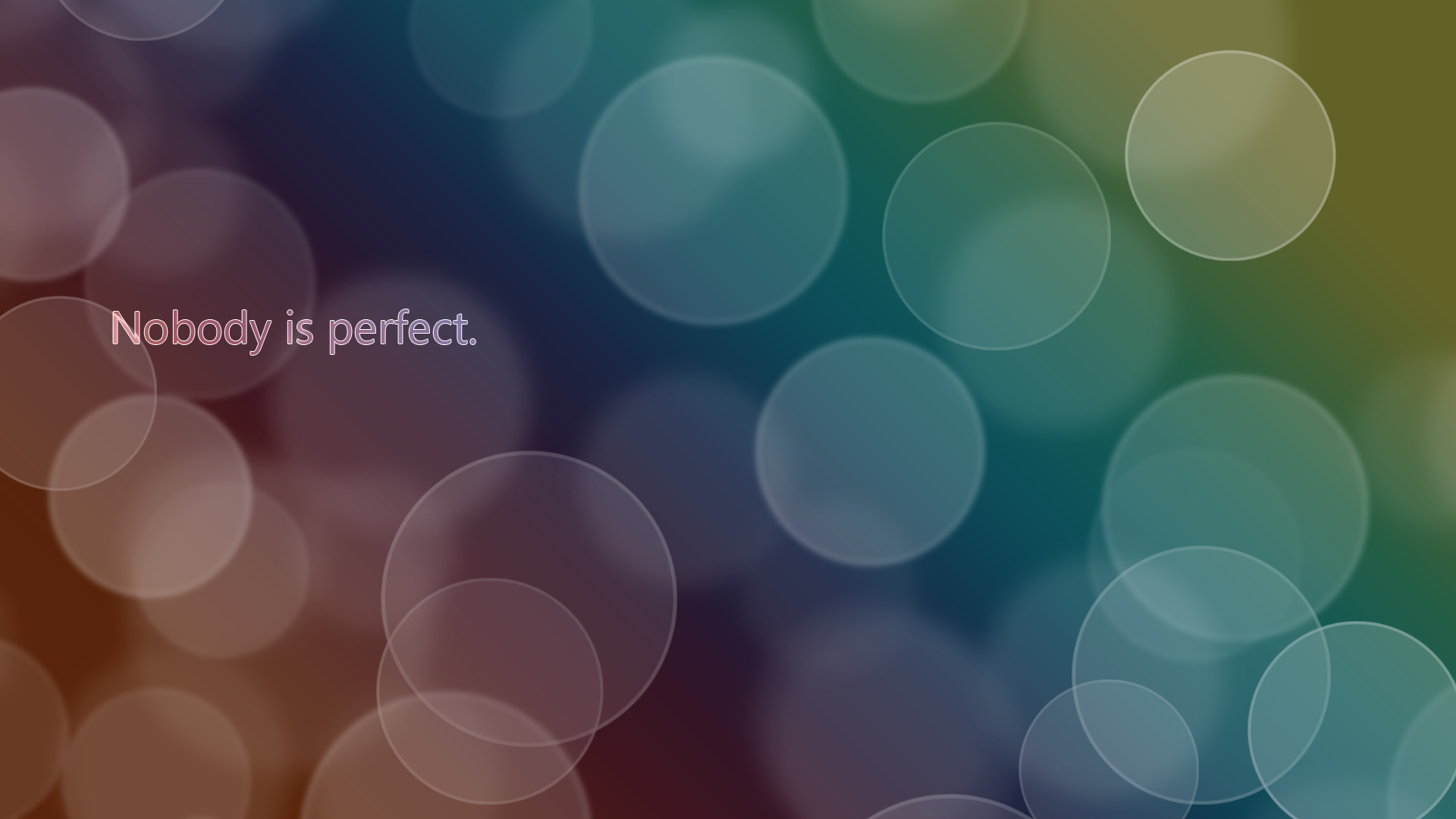 Nobody is perfect by peterbaumann on deviantart - Nobody is perfect mobel ...
