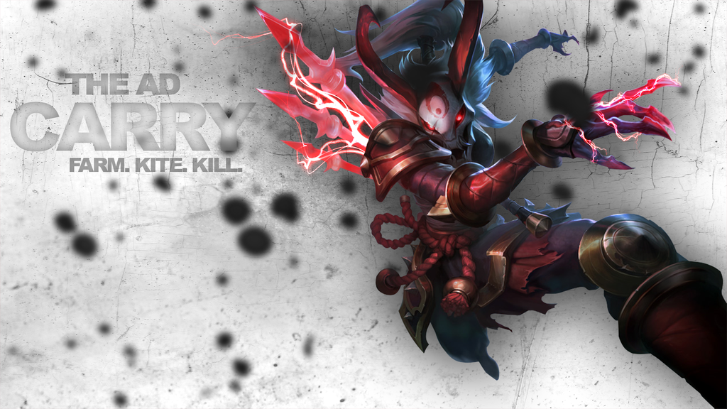 Kalista League Of Legends Minimalist Wallpaper By: Kalista Wallpaper By Peterbaumann On