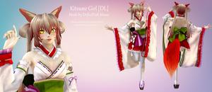 [MMD] Kitsune Girl [DL]