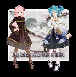 [MMD TDA] China Lolita [DL] by DefectDoll-Misao