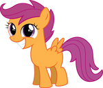 Scootaloo Smiling