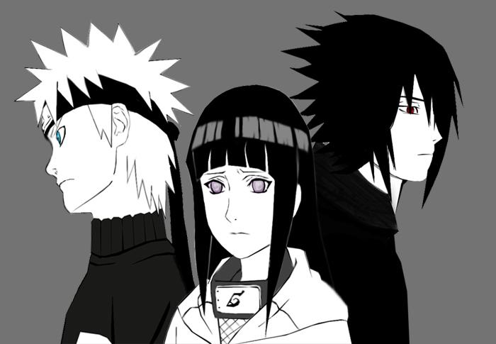 Lo Que Debio Ser El Equipo Sasuke Hinata Naruto By Sasha