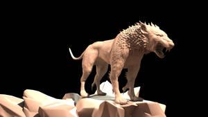 Hellhound 3D Sculpt