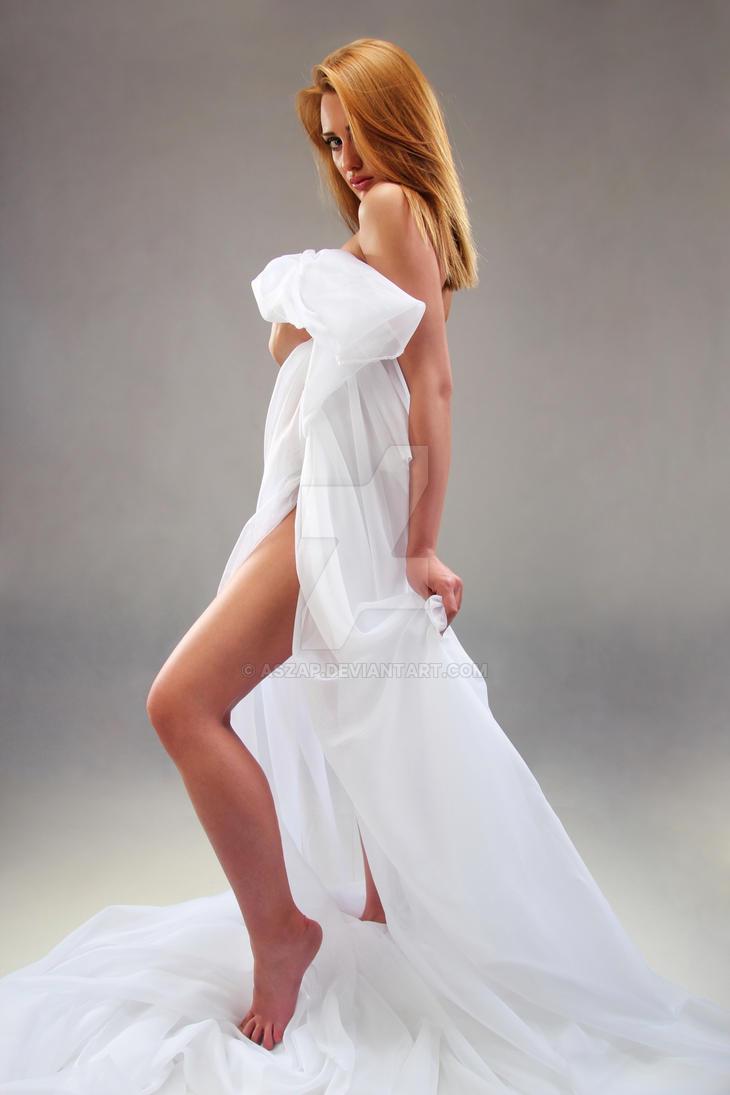 Greek goddess by Aszap