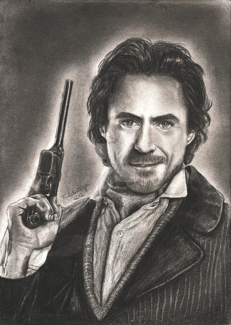 Robert Downey Jr. ~ Sherlock Holmes by tedwiges on DeviantArt