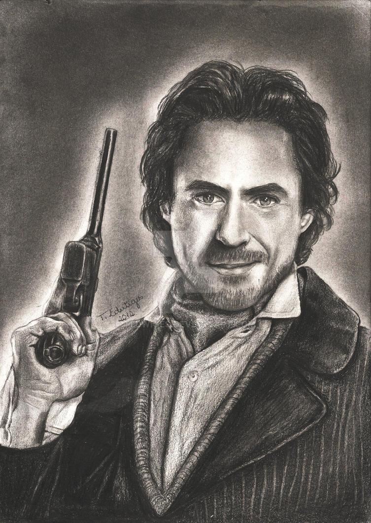 Robert Downey Jr. ~ Sherlock Holmes by tedwiges on DeviantArt