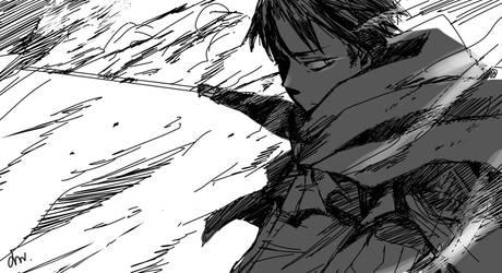 Levi -Attack on titan by Seseyaki