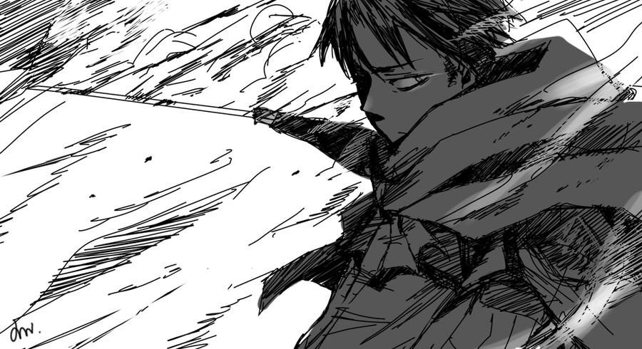 Attack on Titan Manga Attack on Titan Levi Manga