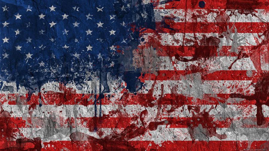 American flag wallpaper by garyckarntzen on deviantart american flag wallpaper by garyckarntzen voltagebd Gallery