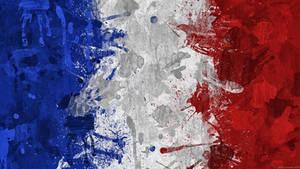French Flag Wallpaper