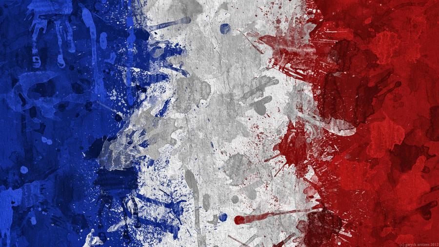 French Flag Wallpaper By GaryckArntzen