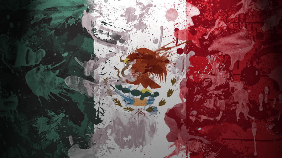 Mexican Flag Wallpaper by GaryckArntzen