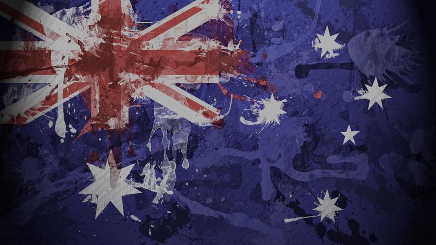 australian flag wallpaper by garyckarntzen on deviantart