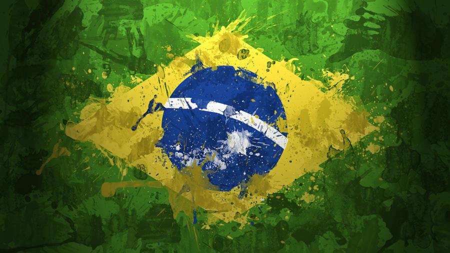 brazil flag wallpaper by garyckarntzen on deviantart