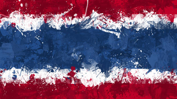 Thai Flag Wallpaper