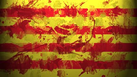 Catalonian Flag Wallpaper