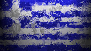 Greek Flag Wallpaper