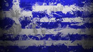 Greek Flag Wallpaper