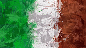 Italian Flag Wallpaper