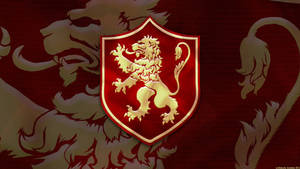 House Lannister Sigil Wallpaper by GaryckArntzen