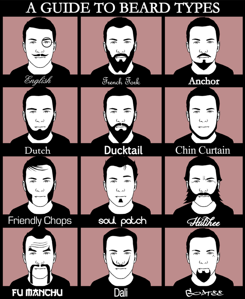 A guide to beard types by GaryckArntzen