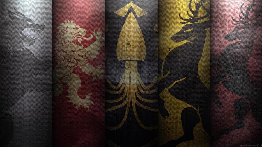 War of the Five Kings Wallpaper V2 by GaryckArntzen