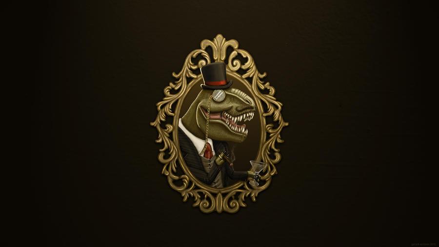 DinoSir Wallpaper by GaryckArntzen