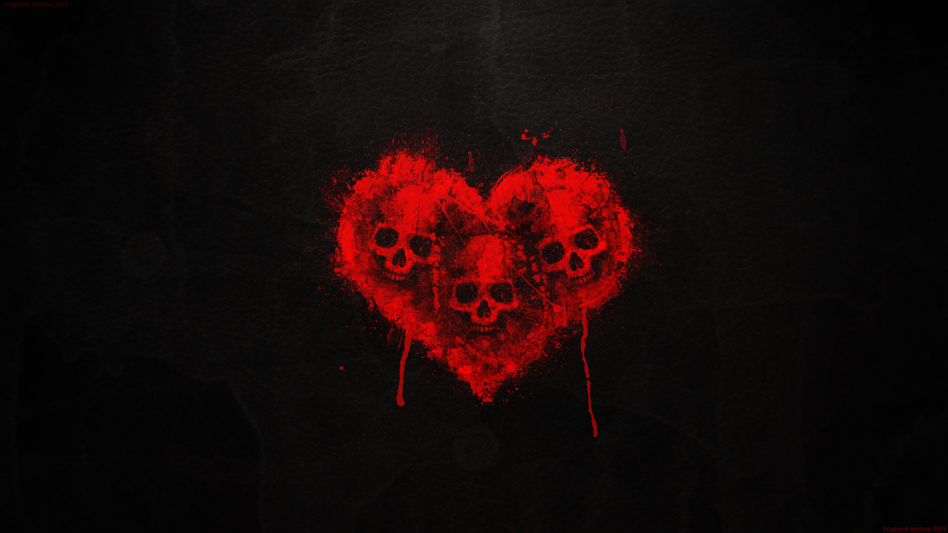 Love Hand Blood Wallpaper : Blood Skulls wallpaper - 984971