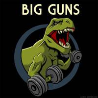 Big Guns by GaryckArntzen