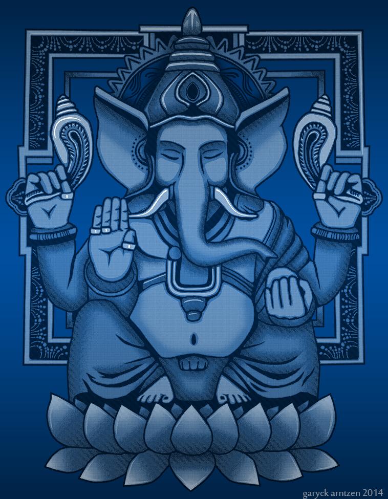 Ganesh Halftone by GaryckArntzen