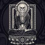 Fasting Buddha and Mucalinda