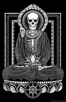 Starving Gautama Buddha