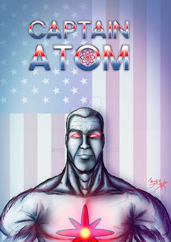 Captain Atom a.k.a Captain Nathaniel Adams