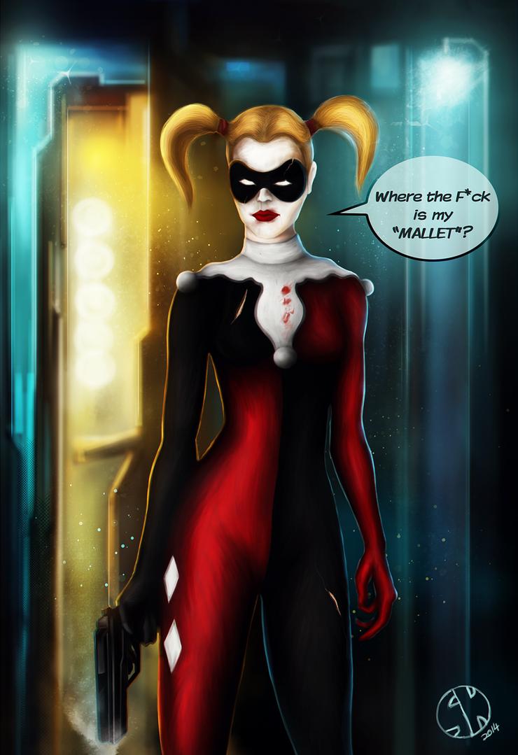 Joker's Beloved is mad! by Snhussain