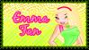 Emma Fan Stamp by RavenVillanuevaT2P
