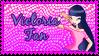Victoria Fan Stamp by RavenVillanuevaT2P