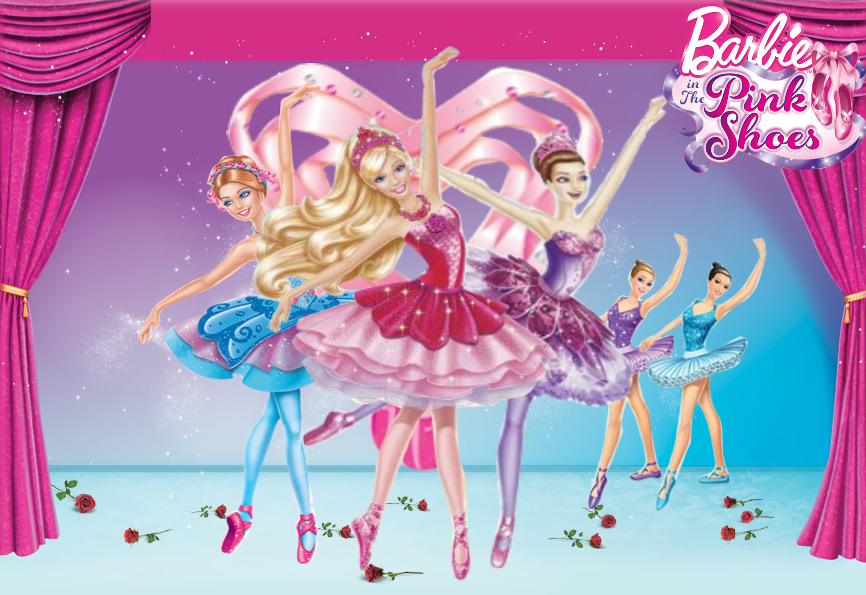 Popular Wallpaper Butterfly Barbie - barbie_in_the_pink_shoes_wallpaper_by_ravenvillanuevat2p-d64neh0  Image_25771.png