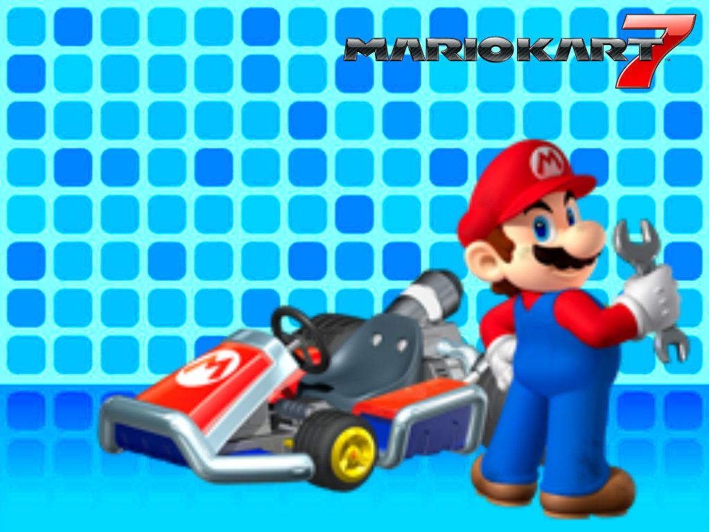 mario kart 7 wallpaper by ravenvillanuevat2p on deviantart