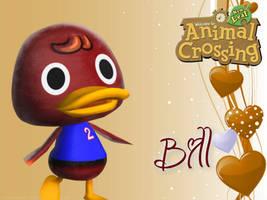 Animal Crossing New Leaf Wallpaper: Bill by RavenVillanuevaT2P