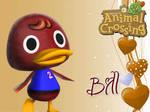 Animal Crossing New Leaf Wallpaper: Bill
