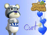 Animal Crossing New Leaf Wallpaper: Curt